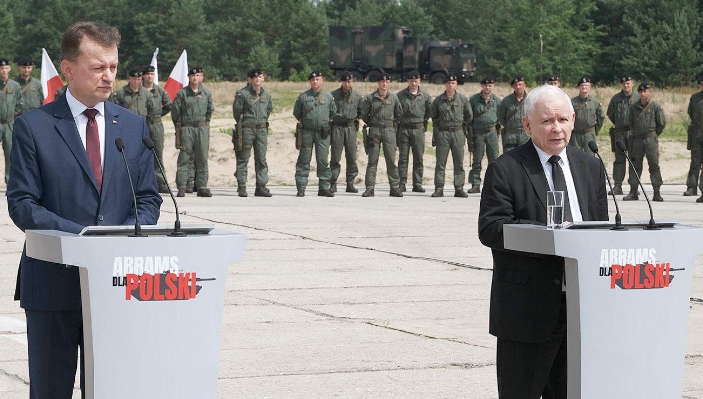 MON: we wtorek zostaną przedstawione założenia nowej ustawy o obronie ojczyzny (fot. PAP/Mateusz Marek)