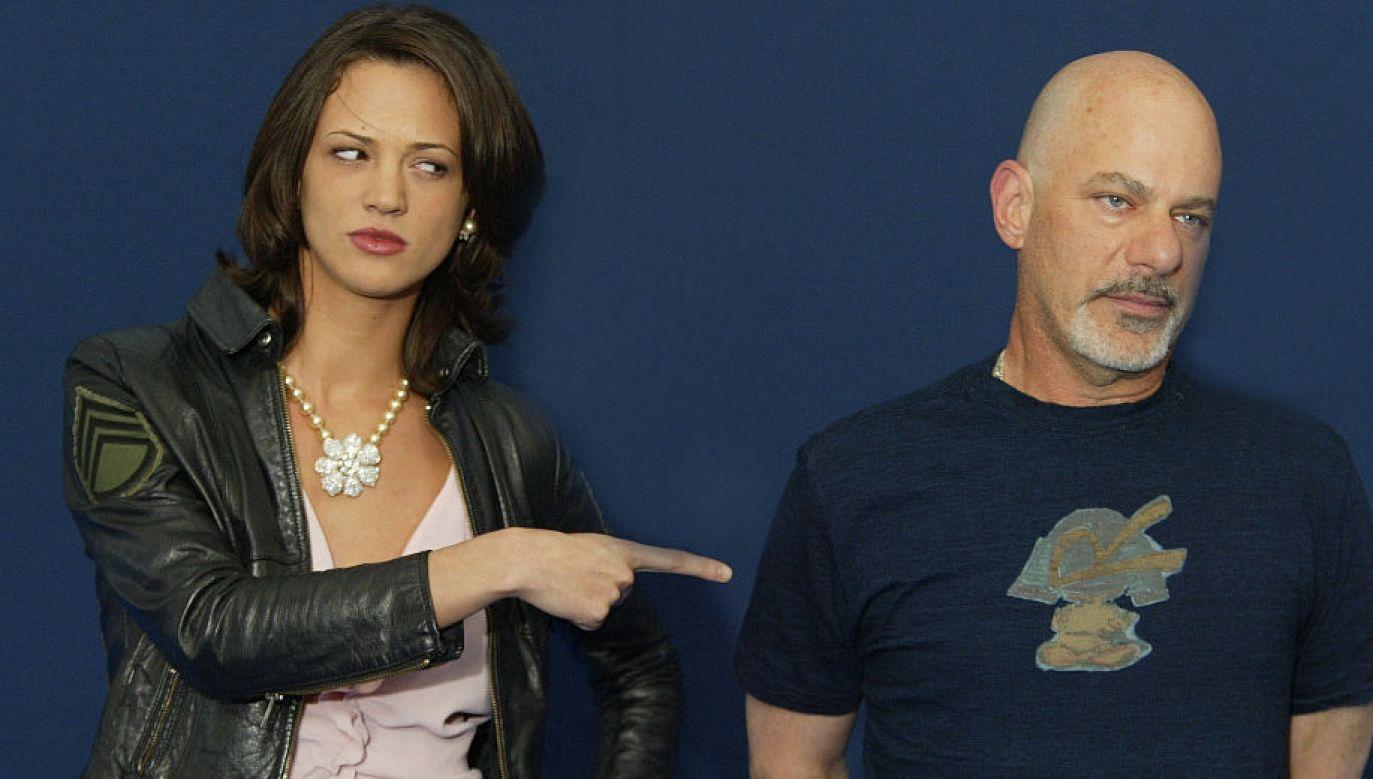 Asia Argento i Rob Cohen (fot. S.Cardinale/Corbis/Getty Images)