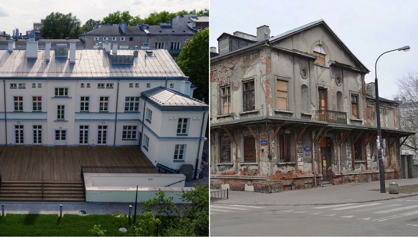 Pałacyk Konopackiego na warszawskiej Pradze (fot. Materiały prasowe)