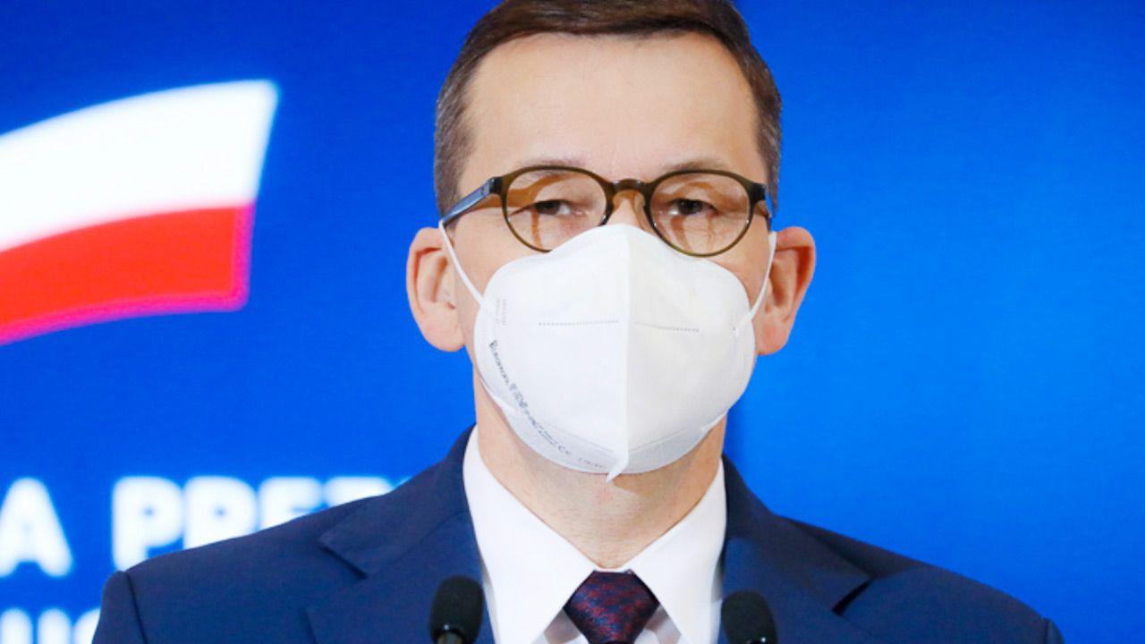 Premier ocenił, że przed nami decydujące tygodnie w walce z pandemią (fot. Krystian Maj/KPRM)
