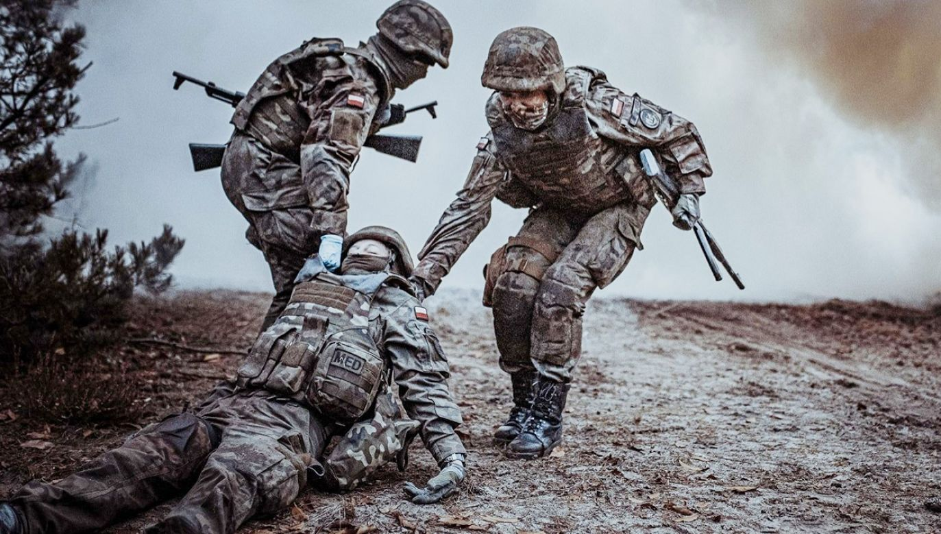 Kurs jest certyfikowany przez Wojskowe Centrum Kształcenia Medycznego w Łodzi (fot. Wojska Obrony Terytorialnej)
