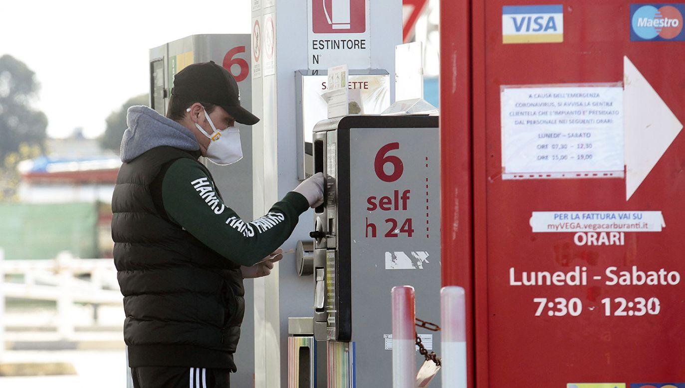 Ceny paliw we Włoszech są najwyższe od 2014 roku (fot. Donato Fasano/Getty Images)