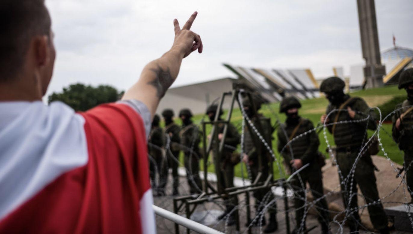 Mińsk wziął na celownik polską społeczność – zwraca uwagę Josep Borell (fot. Misha Friedman/Getty Images)