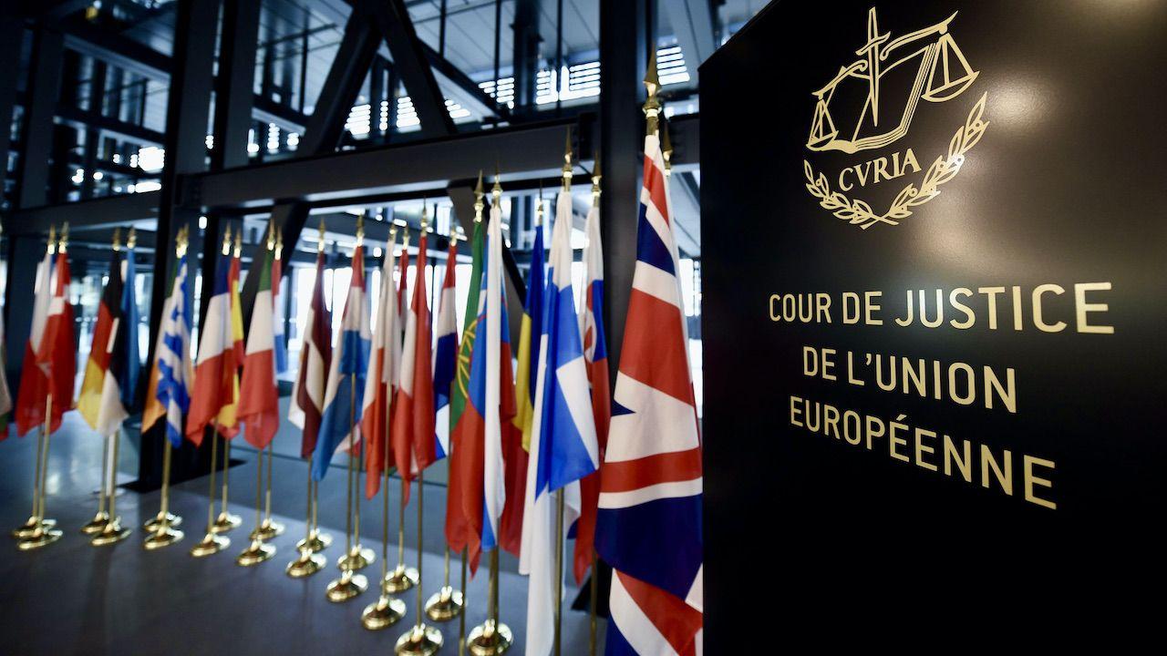 TSUE wydał orzeczenie, którego realizacja w ocenie przedstawicieli władz, zagraża bezpieczeństwu Polski (fot. Alexandre MARCHI/MAXPPP/Forum)