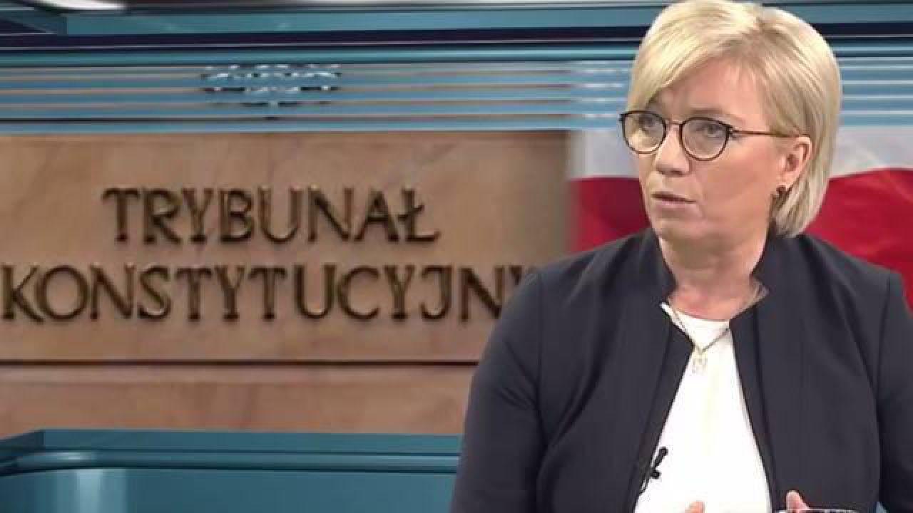 """Sędzia Przyłębska została Człowiekiem Wolności Tygodnika """"Sieci""""  (fot. wPolityce.pl)"""
