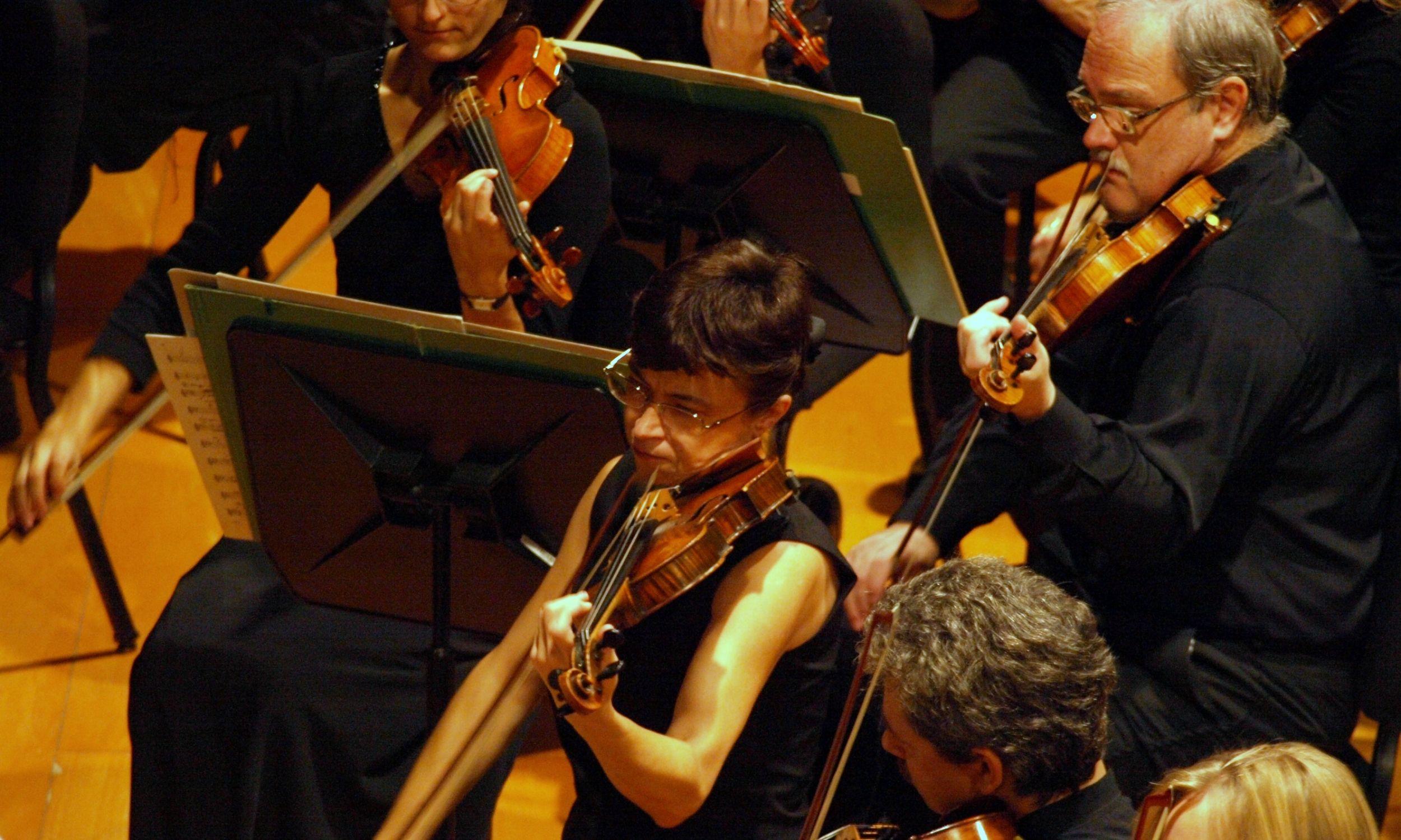 Orkiestra w Katowicach była na wysokim poziomie, a ta w Palmie, kiedy do niej dołączyłam, istniała zaledwie od roku. Jej skład był międzynarodowy, muzycy o różnym poziomie. Musiało minąć sporo czasu, aby się wzajemnie dotrzeć – wspomina Barbara Walus (na zdjęciu). Fot. arch. prywatne BW