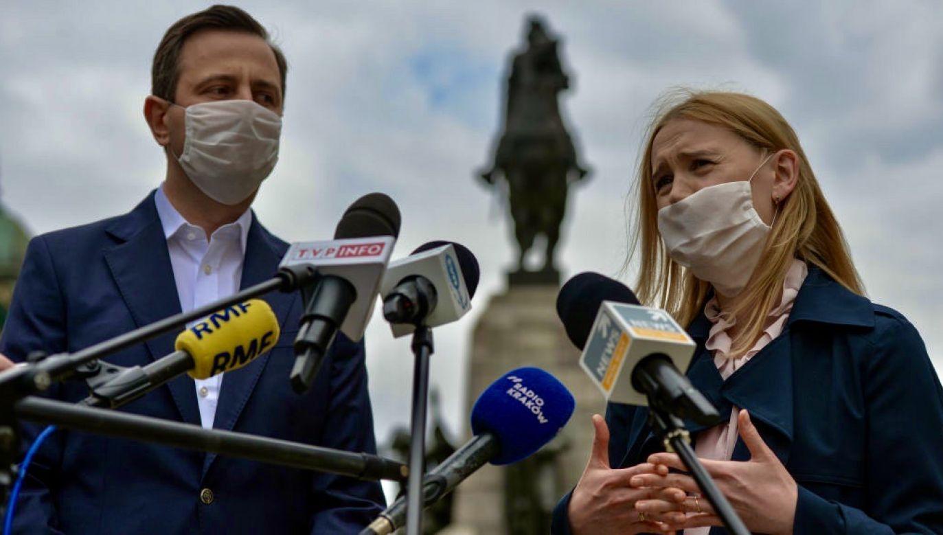 Władysław Kosiniak-Kamysz traci w sondażach prezydenckich (fot. Artur Widak/NurPhoto via Getty Images)
