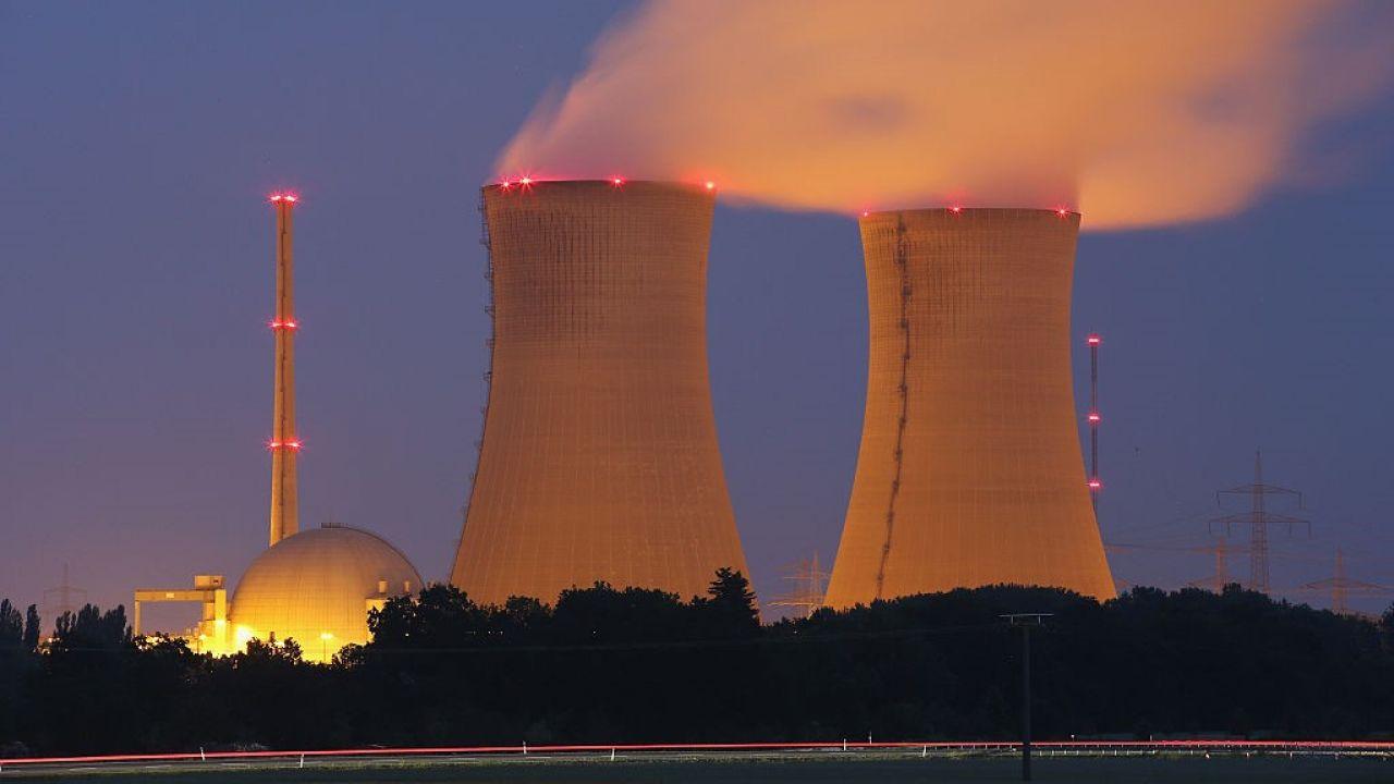 Elektrownia jądrowa Grafenrheinfeld (fot. Sean Gallup/Getty Images)