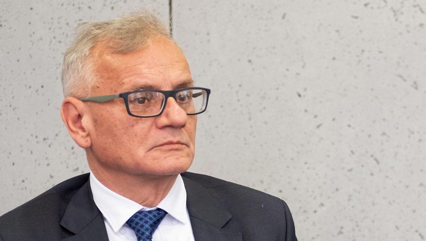 Poseł Zdzisław Wolski codziennie łączy obowiązki parlamentarzysty z pracą lekarza internisty (fot. PAP/Hanna Bardo)