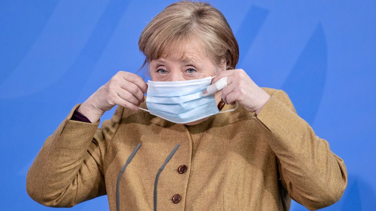 Kanclerz Niemiec Angela Merkel (fot. PAP/EPA/ANDREAS GORA)
