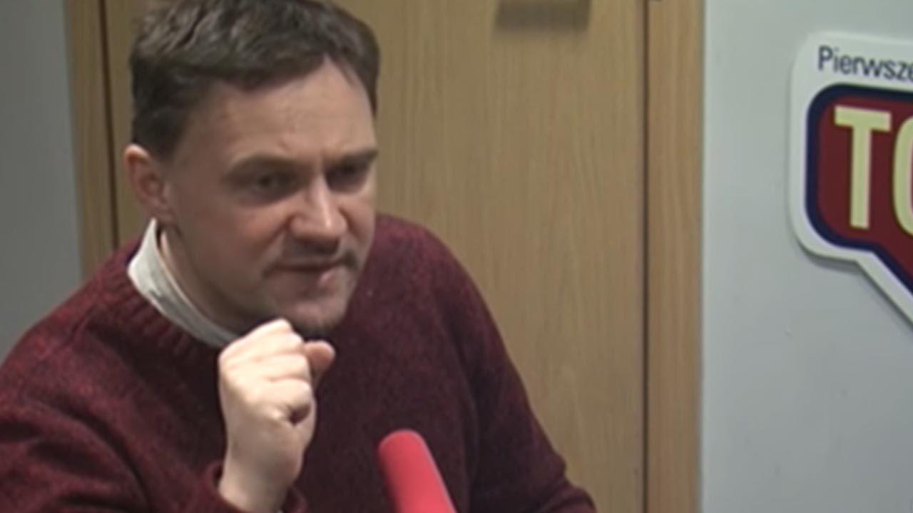 """""""Lizała, lizała to i dolizała"""" – napisał dziennikarz """"Gazety Wyborczej"""" (fot. YouTube/ Radio TOK FM)"""