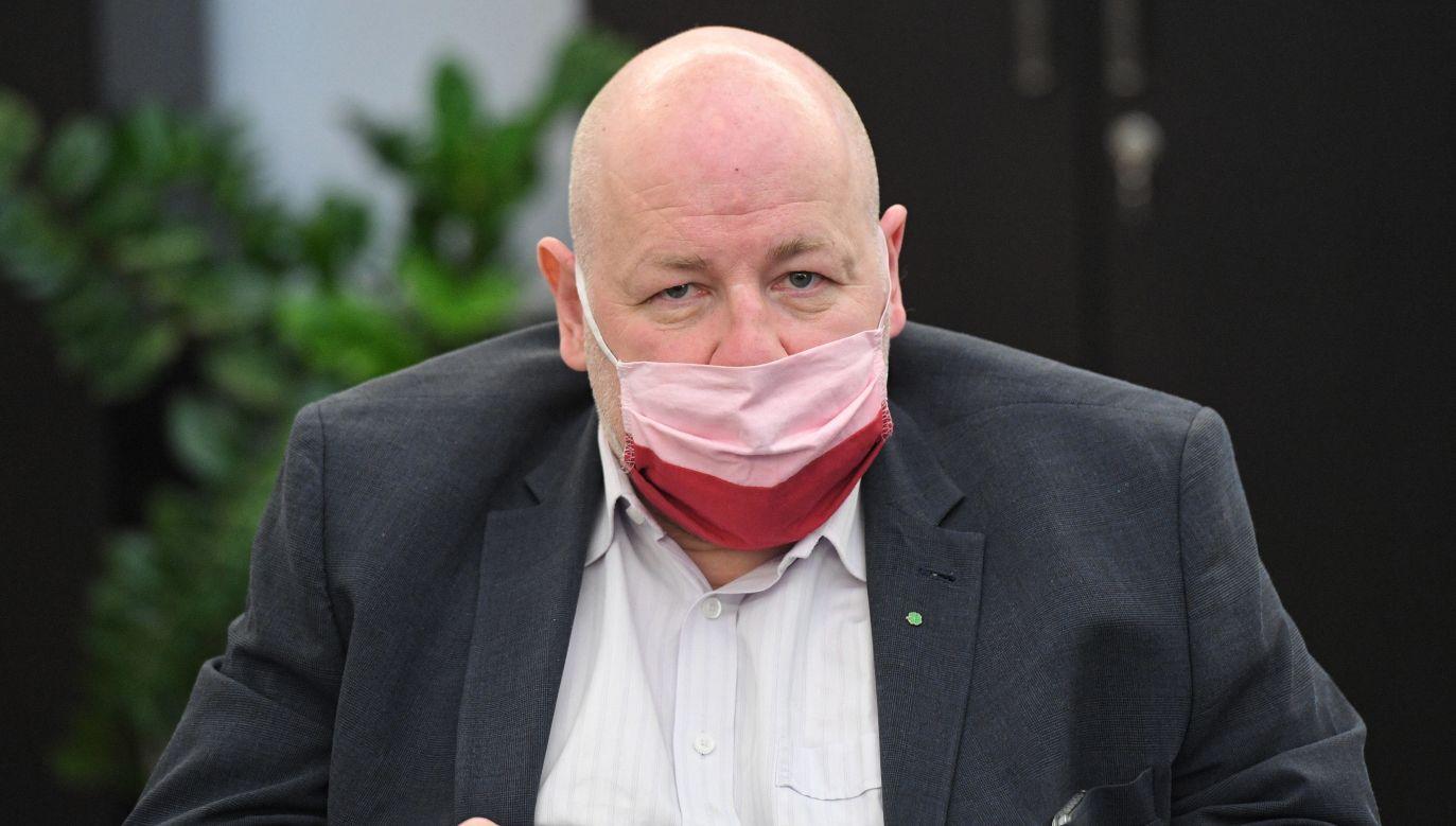 Koronawirus w Polsce. Senator PSL Jan Filip Libicki komentuje (fot. PAP/Radek Pietruszka)