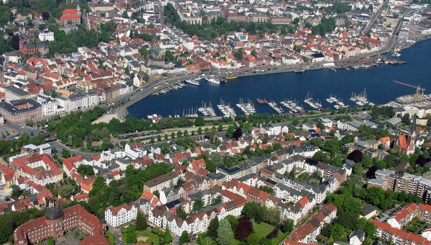 Do 1864 roku Flensburg należał do Danii, obecnie znajduje się w granicach Niemiec (fot. Wiki 3.0/Wolfgang Pehlemann)