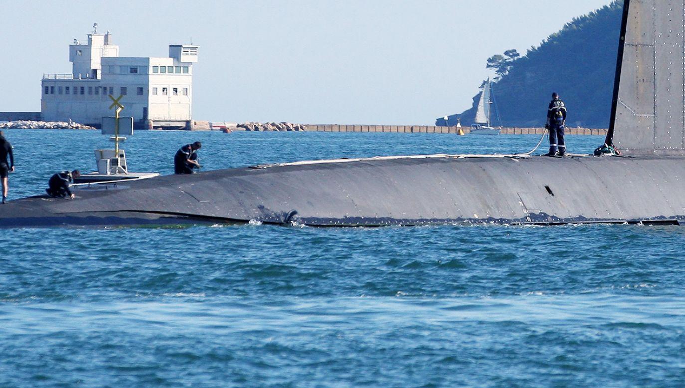 Rekonstrukcja dwóch niesprawnych okrętów w jeden (fot. PAP/EPA; zdjęcie ilustracyjne)
