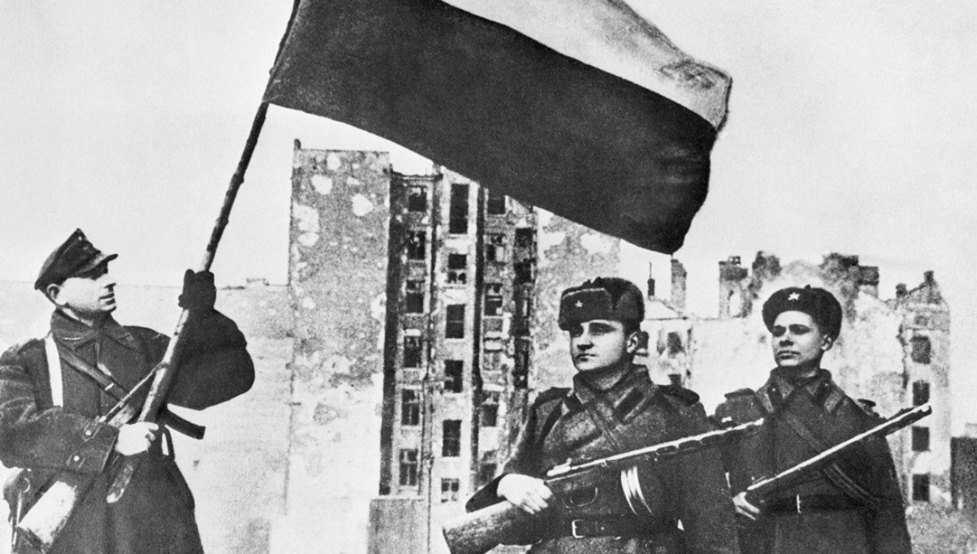 Rosjanie wkroczyli do Warszawy 17 stycznia 1945 r. (fot. TASS via Getty Images)