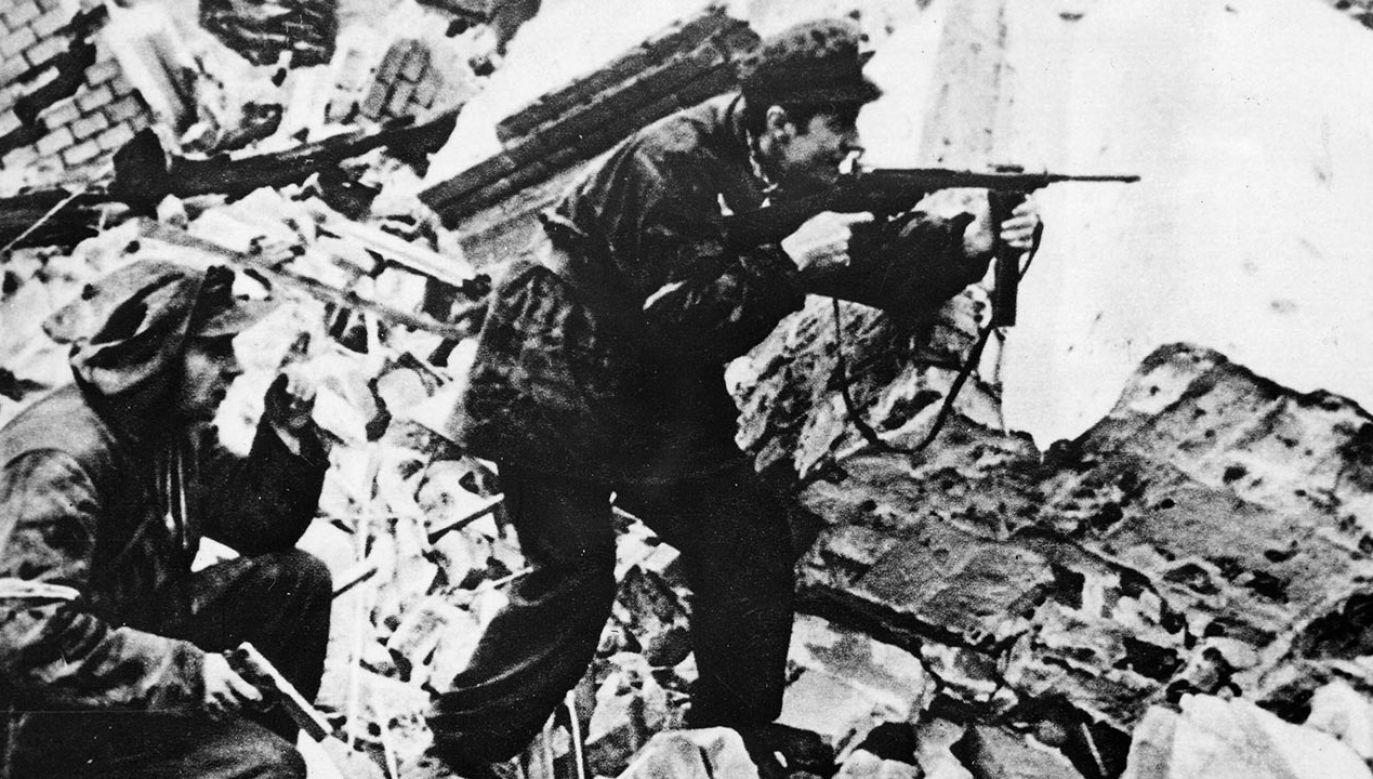 Rzeź Woli była zemstą za wybuch Powstania Warszawskiego (fot. PAP/Newscom)