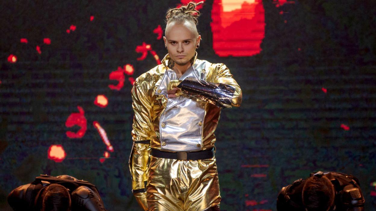 Mateusz stanął przed wyzwaniem. Czy udało mu się odtworzyć choreografię Michaela Jacksona? (fot. TVP)