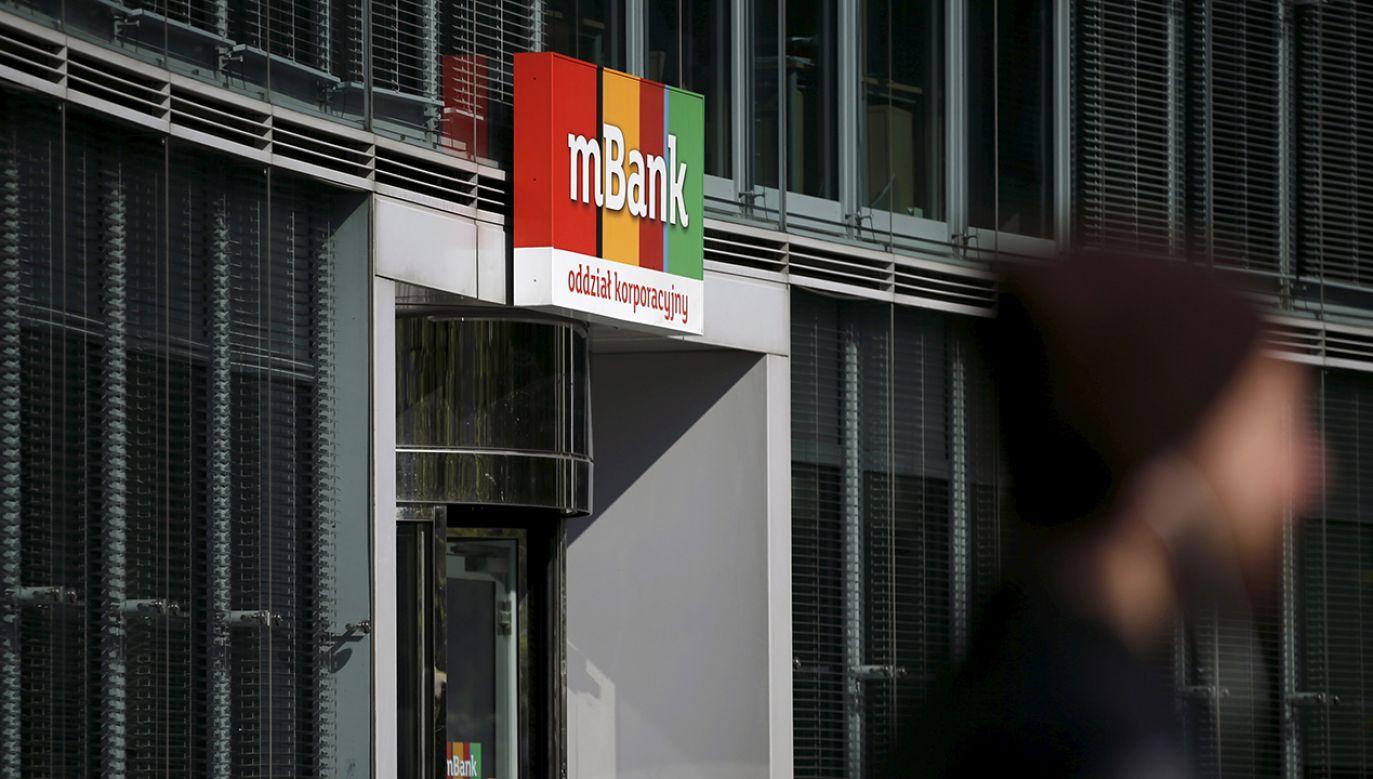 Udział mBanku w aktywach sektora wynosi 7,8 procent (fot. REUTERS/Kacper Pempel)