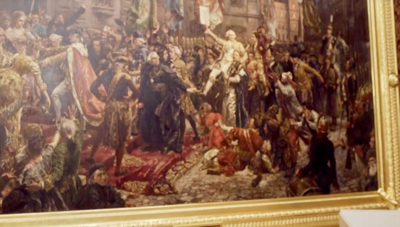 Wystawę będzie można oglądać od 4 maja (fot. yt/Zamek Królewski w Warszawie)