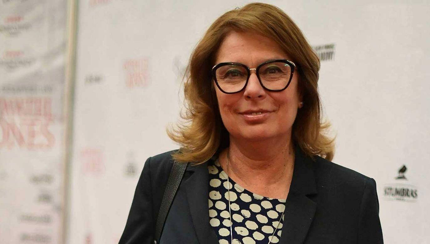 Małgorzata Kidawa-Błońska była pytana o start w wyborach prezydenckich (fot. PAP/Marcin Obara)