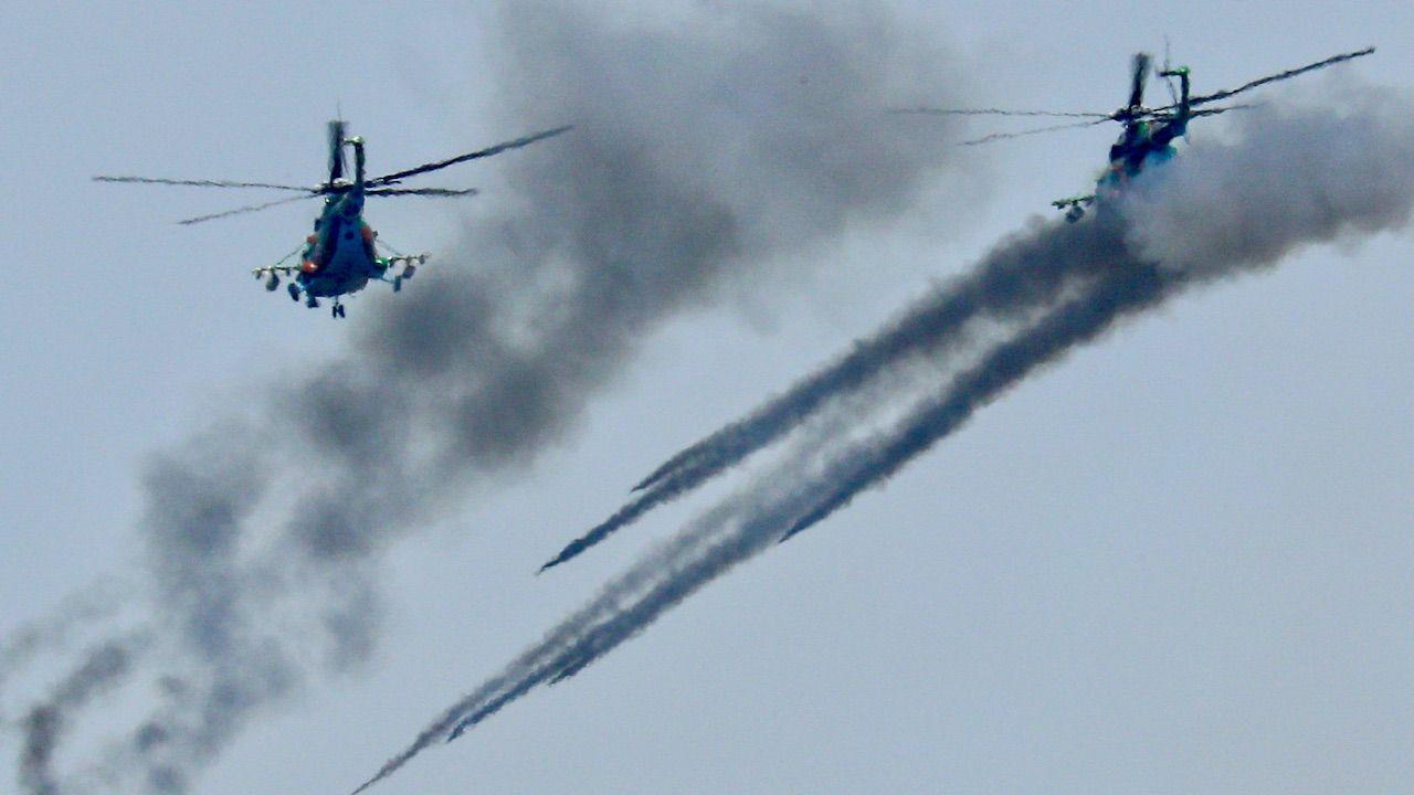 Celem rosyjsko-białoruskich manewrów jest wystraszenie państw regionu i osłabienie (fot. Erik Romanenko\TASS\Getty Images)