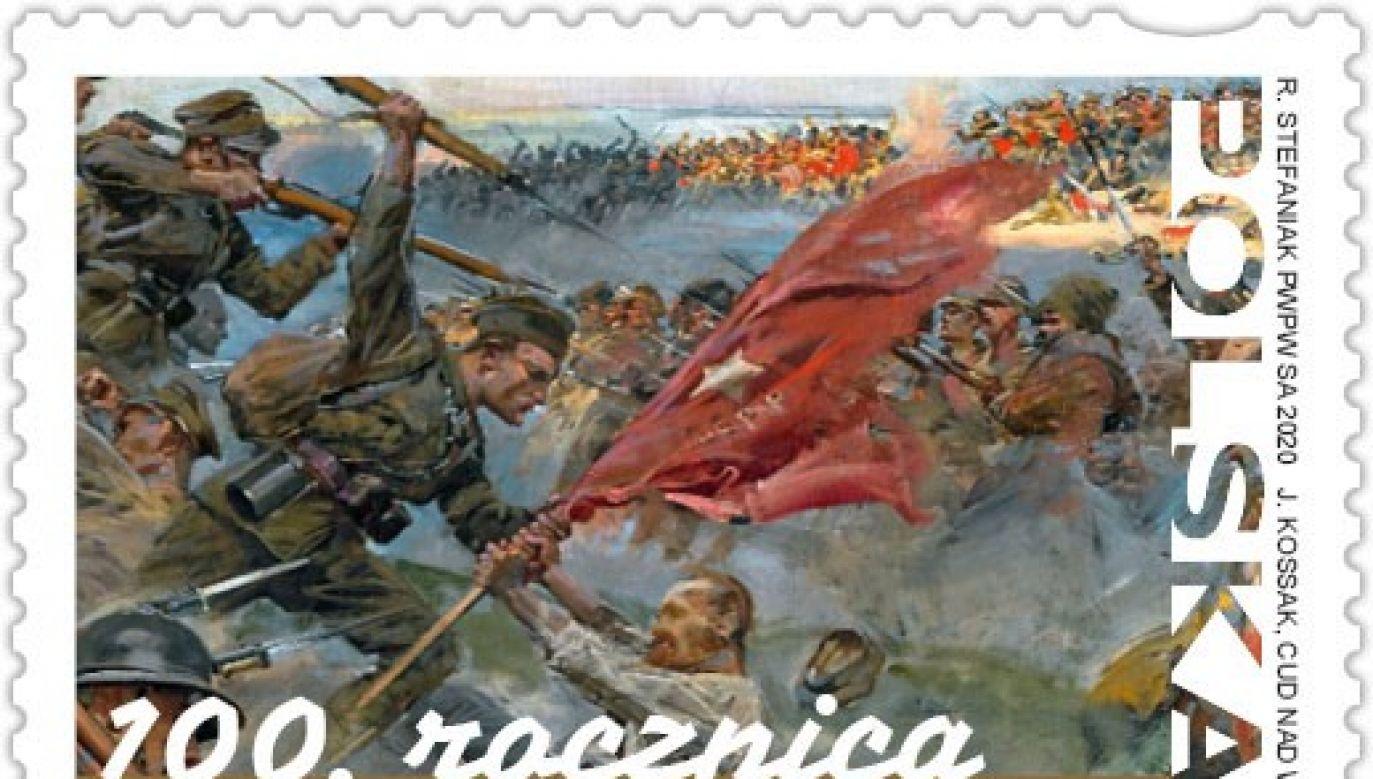 Poczta przypomniała, że w ostatnim czasie wprowadziła do obiegu również znaczek poświęcony pułkownikowi Janowi Kowalewskiego (fot. Poczta Polska)