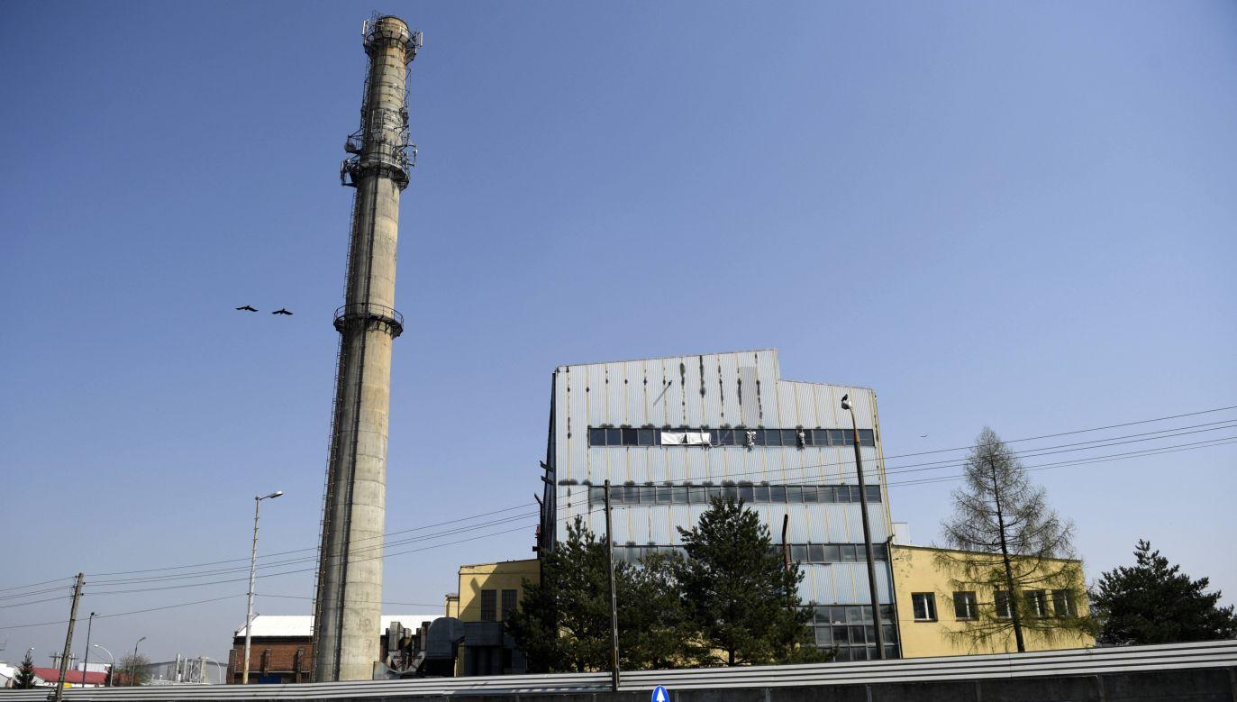 Budynek elektrociepłowni w Przeworsku (fot.arch.PAP/Darek Delmanowicz)