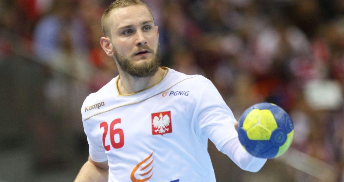 83aabb874 Polscy szczypiorniści przegrali z Niemcami w meczu towarzyskim w Rostocku.  Michał Daszek (fot. Getty)
