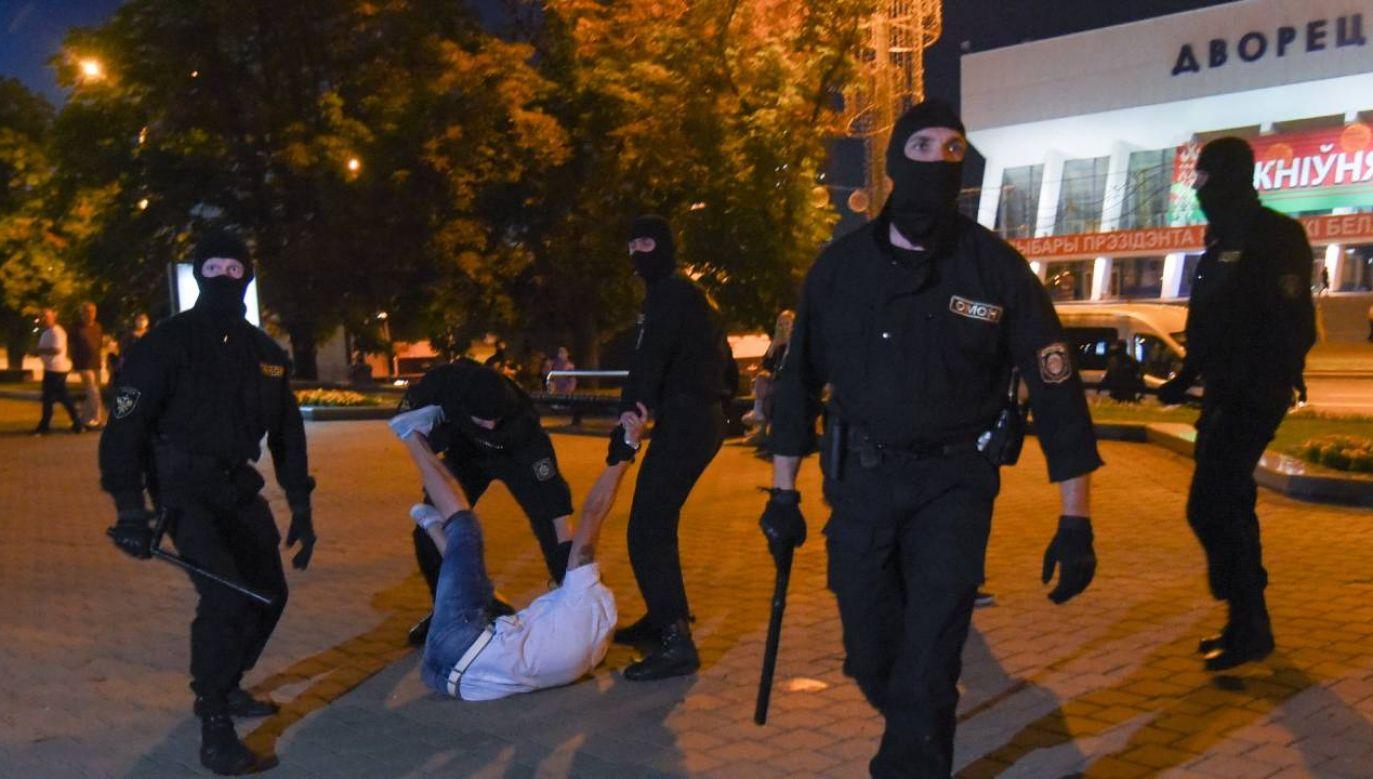 Fala protestów po wyborach prezydenckich (fot.PAP/EPA/MARINA SEREBRYAKOVA)