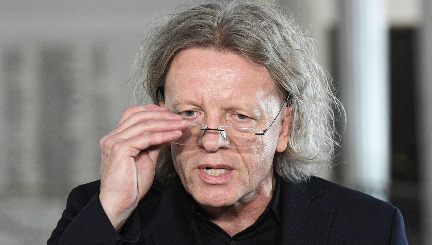 Poseł Krzysztof Mieszkowski (fot. arch.PAP/Paweł Supernak)