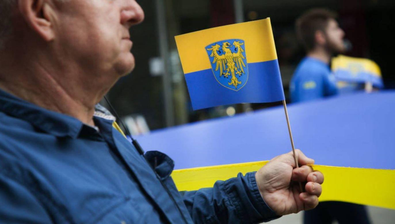 Marsz przeszedł ulicami Katowic (fot.Beata Zawrzel/NurPhoto via Getty Images)