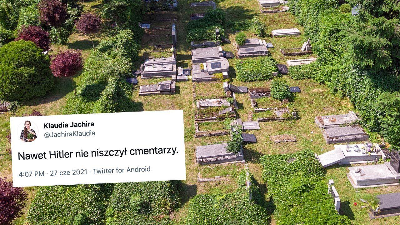 Niefortunny wpis posłanki PO Klaudii Jachiry poruszył internautów (fot. PAP/Andrzej Grygiel)