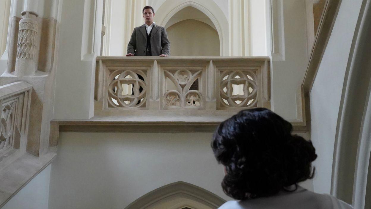 Podczas spektaklu widz będzie mógł śledzić proces duchowe dojrzewania przyszłego papieża (fot. A. Ciołek/TVP)