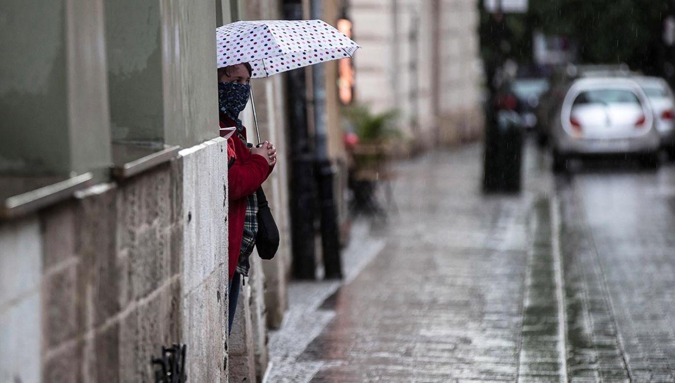 W kraju pojawi się chłodniejsze powietrze (fot. PAP/Łukasz Gągulski)