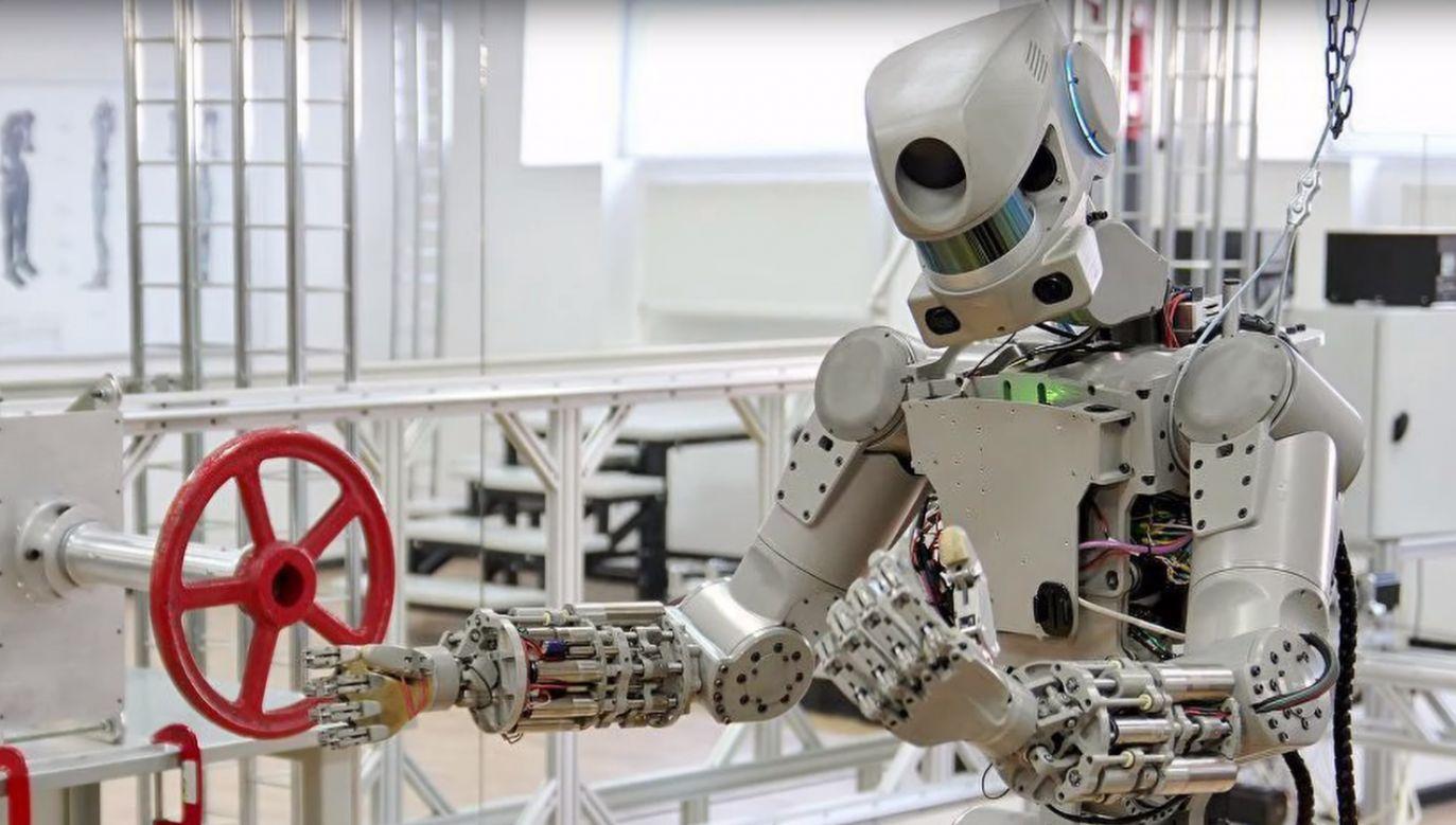 Fiodor to robot zaprojektowany do zadań ratowniczych (fot.  YT/Rockets Official)