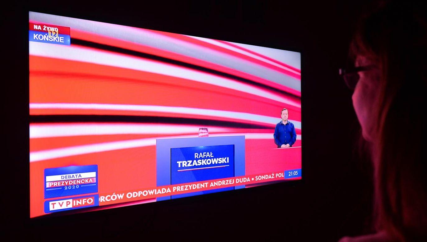 Oceny po debacie prezydenckiej (fot.  Artur Widak/NurPhoto via Getty Images)