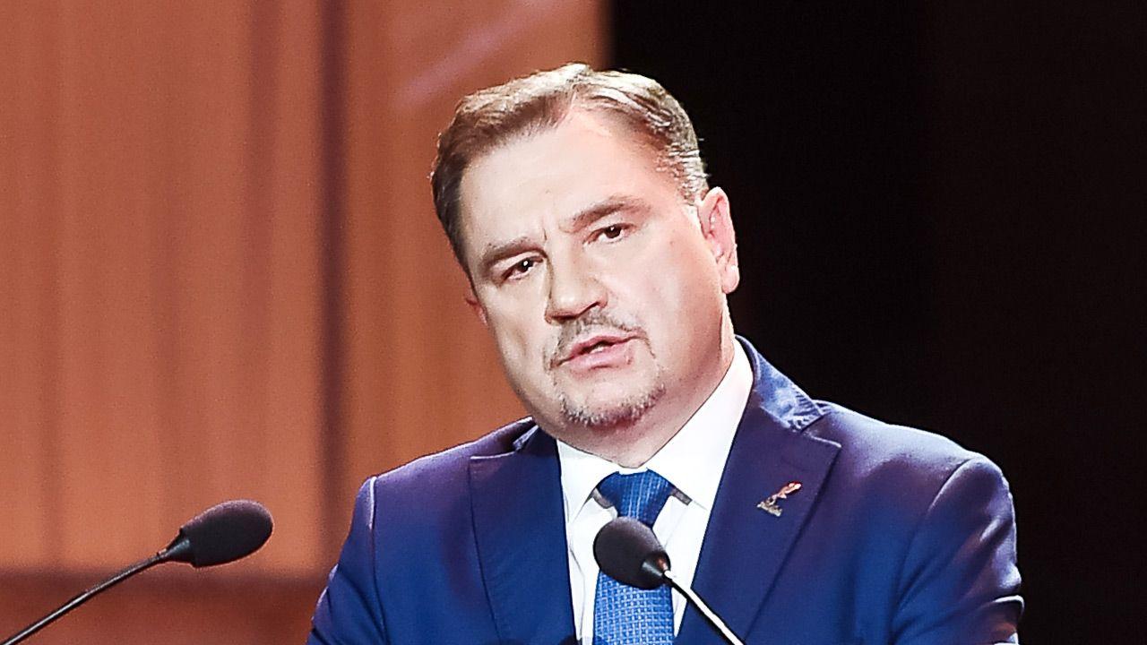 Piotr Duda, przewodniczący NSZZ Solidarność (fot. Karol Serewis/Gallo Images Poland/Getty Images)