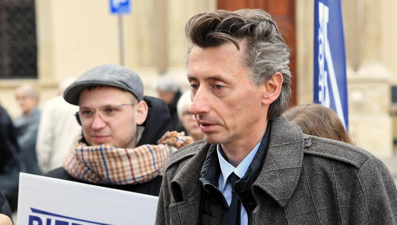 Poseł uważa, że jego wypowiedź wyrwano z kontekstu (fot. PAP/Jacek Bednarczyk)