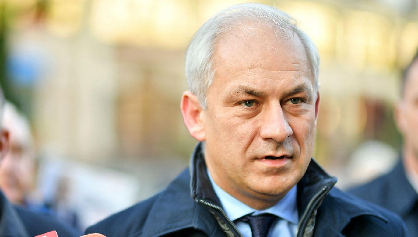 Napieralski był szefem SLD w latach 2008-2011, a między rokiem 2009 i 2011 był także przewodniczącym sejmowego klubu (fot. arch.PAP/Sebastian Borowski)