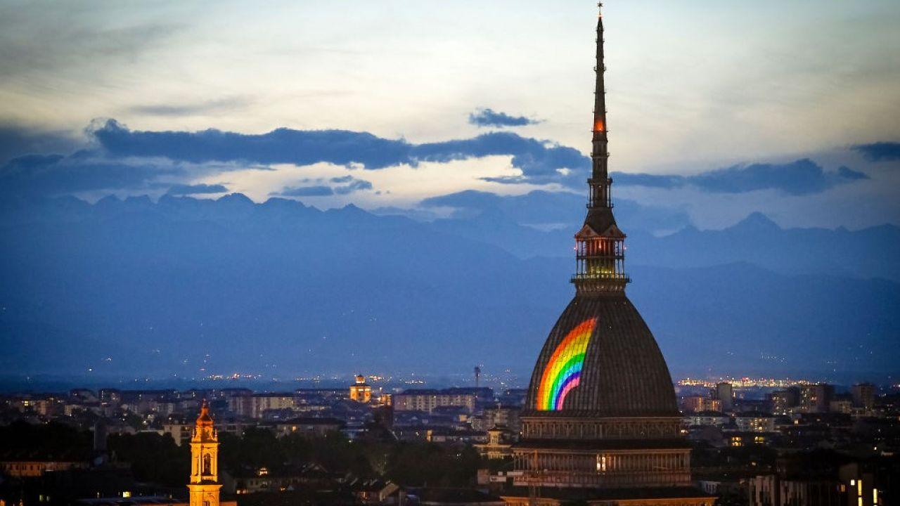 Turyn podczas czerwcowej Gay Pride (fot. Nicolò Campo/LightRocket via Getty Images)