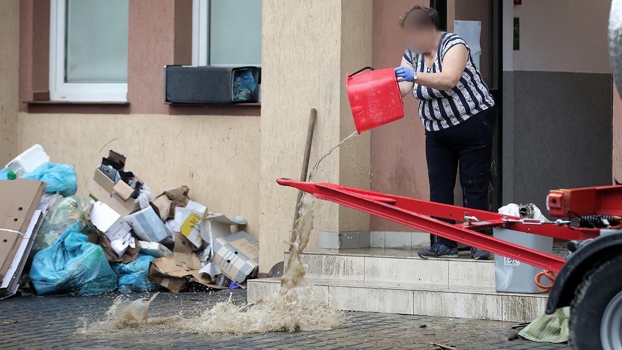 Według synoptyków w najbliższych dniach lokalnie może spaść w Małopolsce do 50 mm deszczu na m kw. (fot. PAP/Grzegorz Momot)