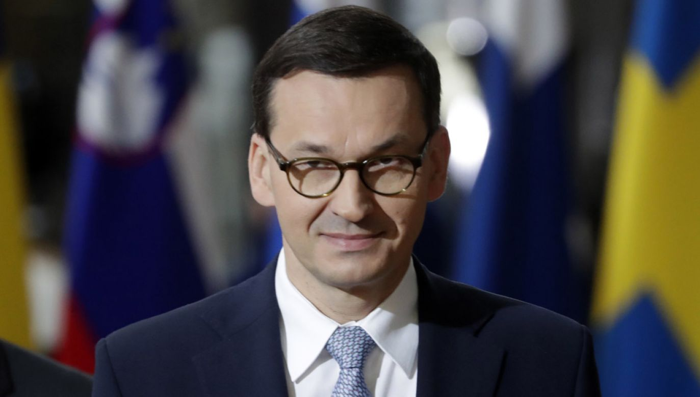 Mateusz Morawiecki reprezentował Polskę na szczycie UE w Brukseli (fot. PAP/EPA/STEPHANIE LECOCQ)