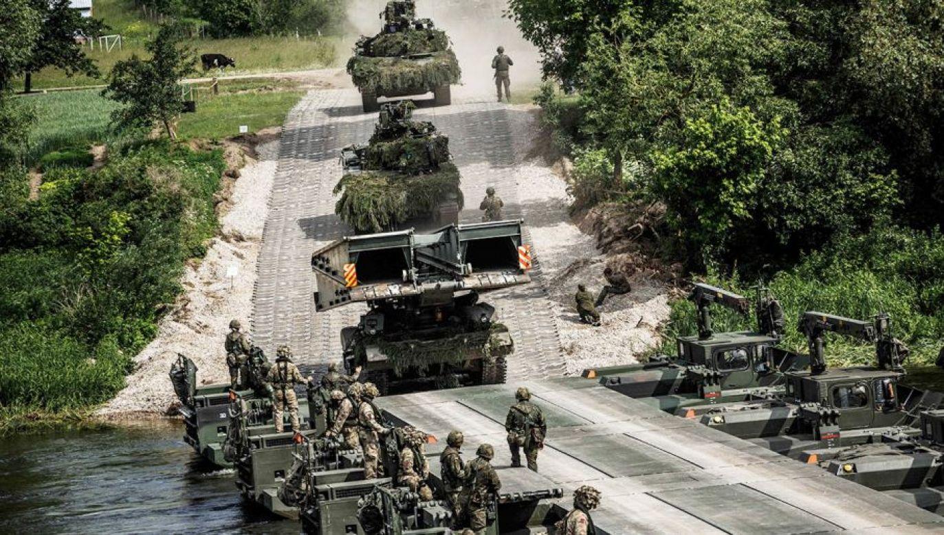 Partnerem w projekcie są Węgry (fot. Getty Images/NATO)