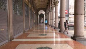 Lombardia jest objęta pomarańczową strefą (fot. EBU/RAI)