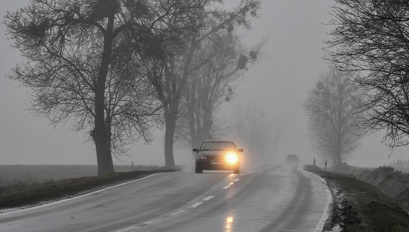 Od godziny 22.00 w czwartek do godziny 7.30 w piątek, na terenie całego województwa opolskiego mogą wystąpić gęste mgły (fot. arch.PAP/Wojtek Jargiło, zdjęcie ilustracyjne)