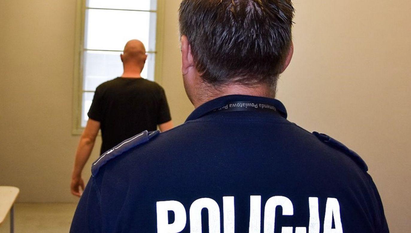 We wtorek do aresztu trafił także inny 40-letni radomianin, któremu prokuratura zarzuciła współudział w pobiciu (fot. policja.pl, zdjęcie ilustracyjne)