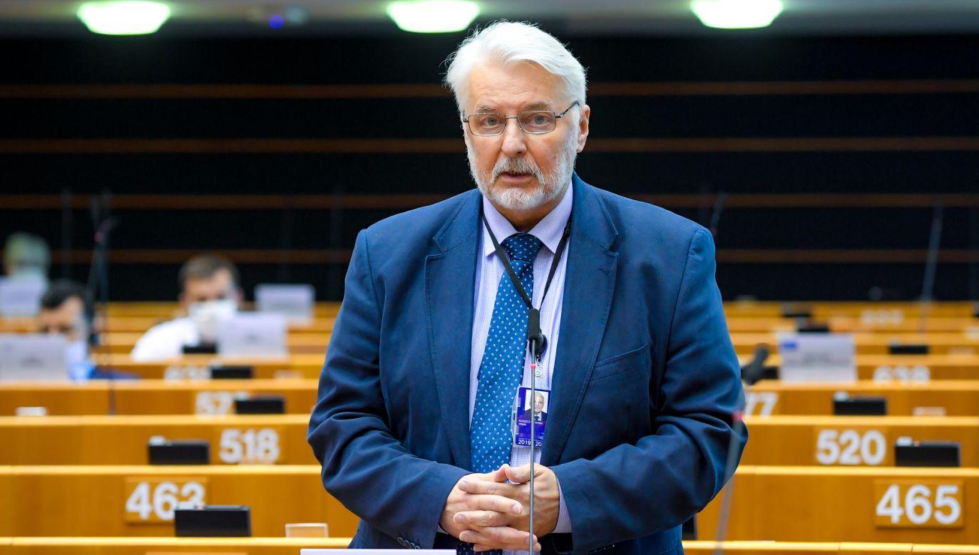 Witold Waszczykowski o sporze ws. praworządności (fot. European Union 2020, Laurie DIEFFEMBACQ)