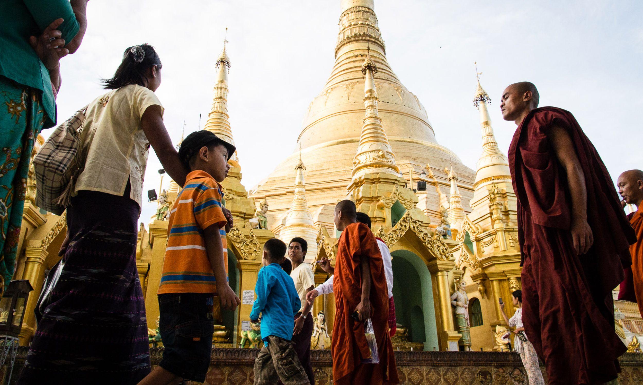 Shwedagon w birmańskiej Yangon (fot. T. Bogusz)