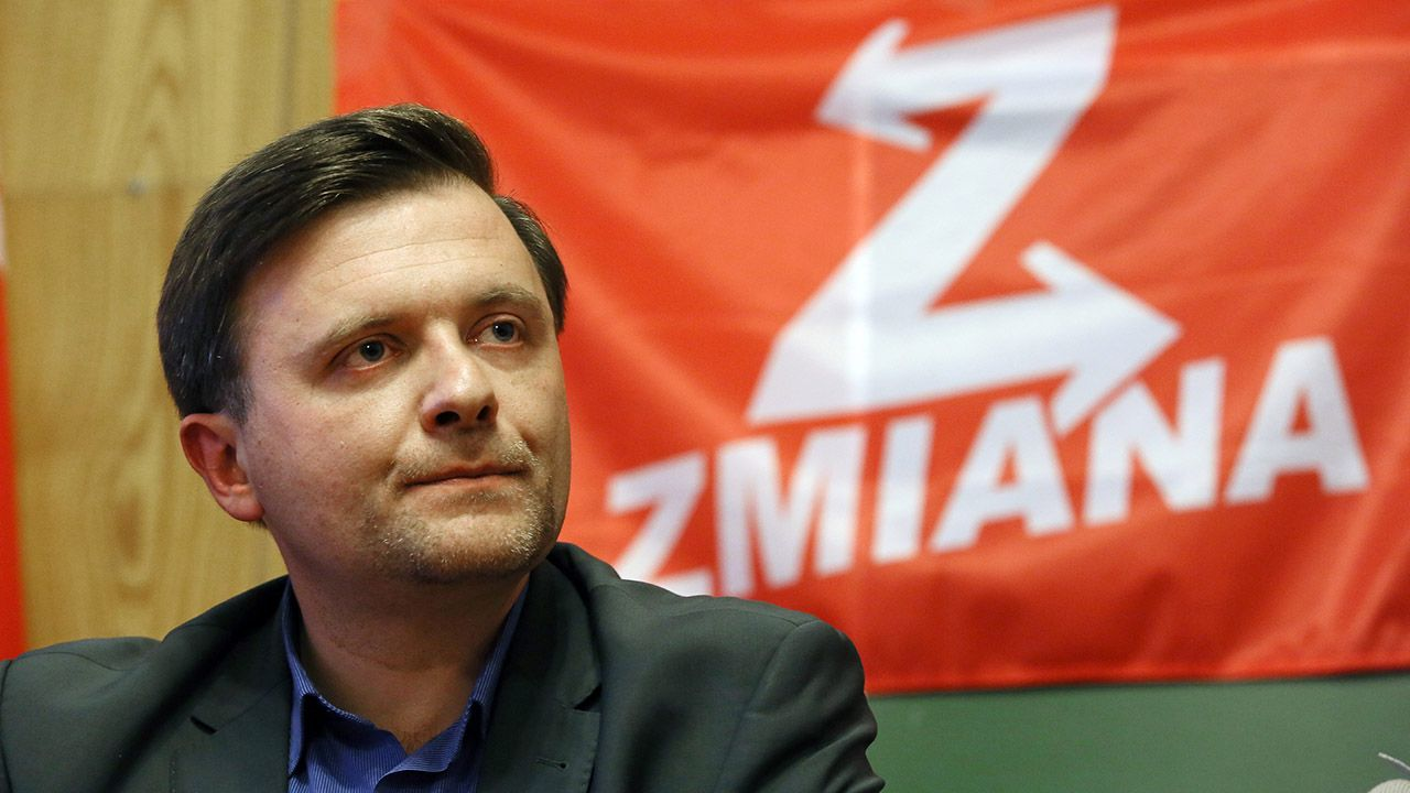 """Partia """"Zmiana"""" zorganizowała zbiórkę pieniędzy na rzecz Piskorskiego, ale prawdopodobnie nie uda się jej w terminie uzbierać potrzebnej kwoty (fot. arch.PAP/Tomasz Gzell)"""