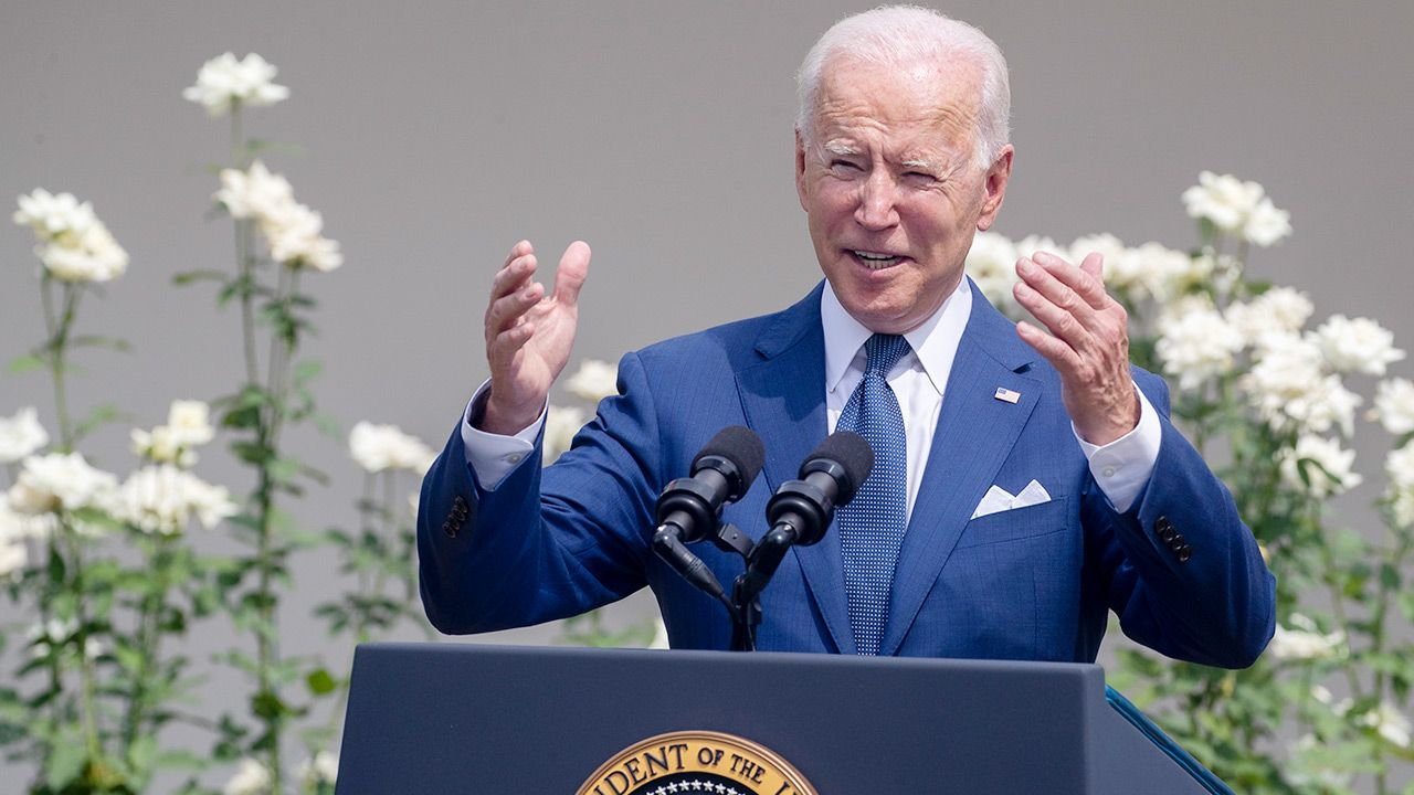 Prezydent USA Joe Biden (fot. PAP/EPA/SHAWN THEW)